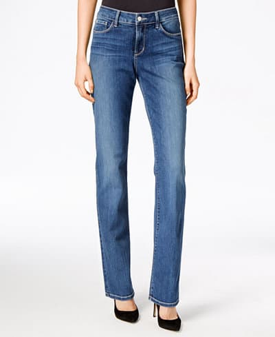 style of straight leg jeans