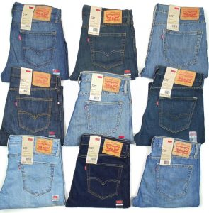 the history of levi jeans