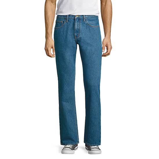 MEN'S CITY STREETS SLIM FIT JEANS FROM JC PENNY