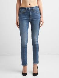 HIGH RISE SLIM STRAIGHT JEANS FROM GAP FOR WOMEN