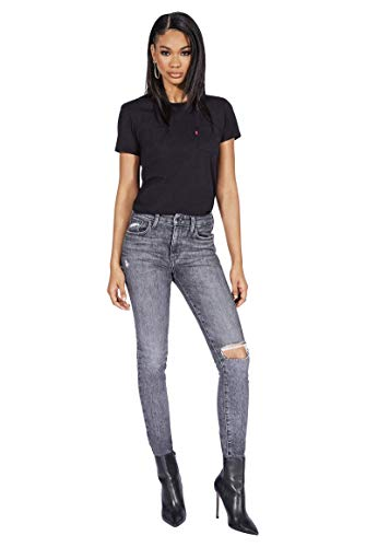 Levi's Women's 721 High-Rise Jeans Customized by Chanel Iman Shepard